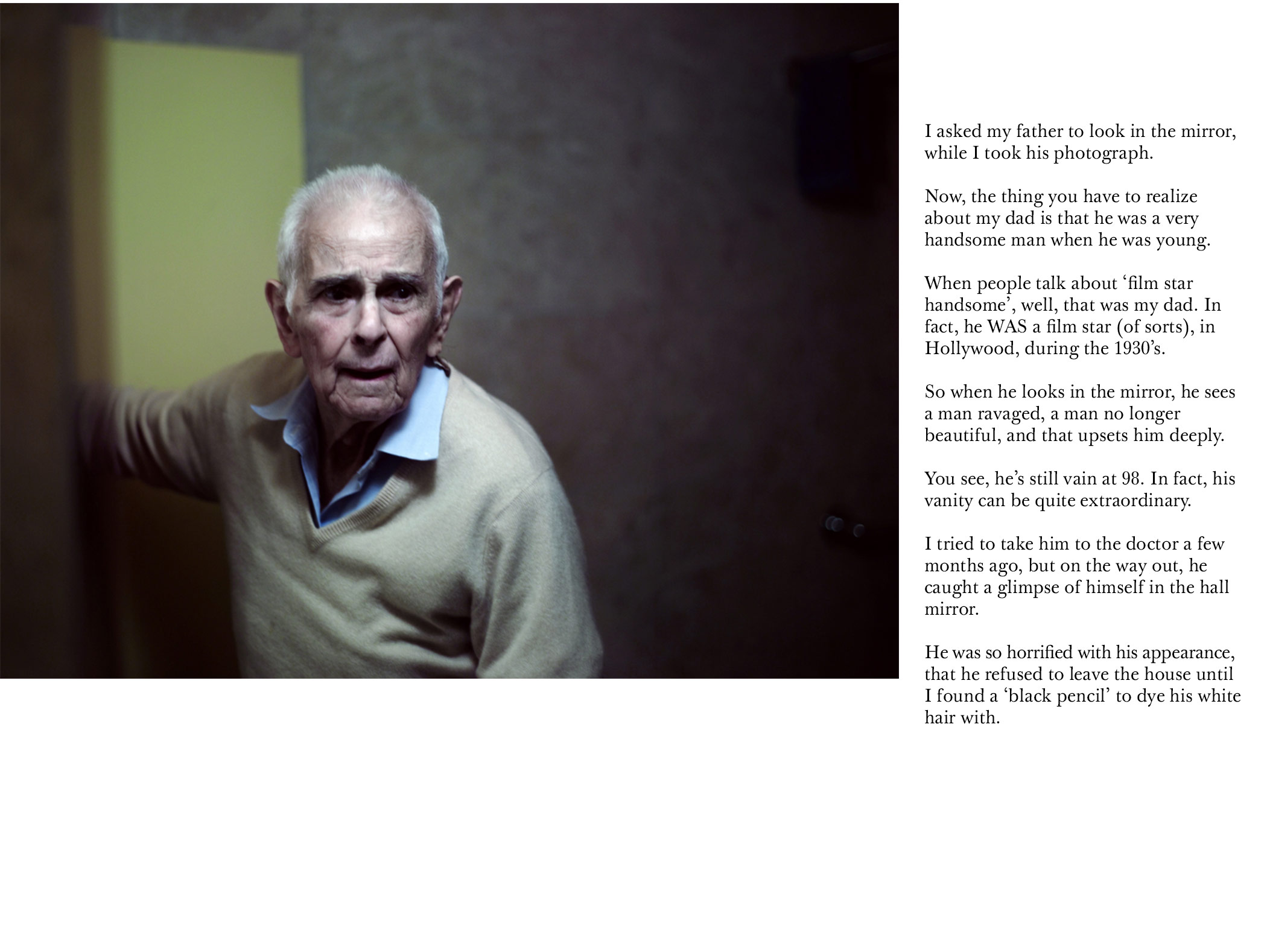 Days With My Father | Phillip Toledano